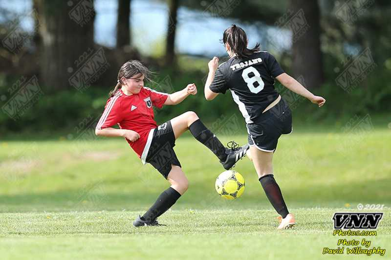 April 21st 2021 Meridian at Baker 8th Grade Girls Soccer by David Willoughby