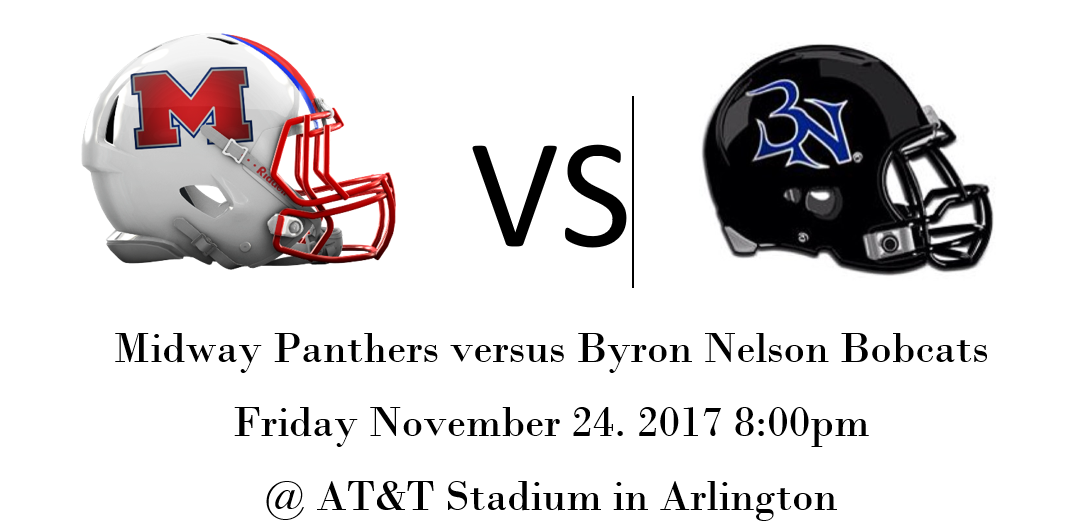 Midway Panther Area Round Playoff Information