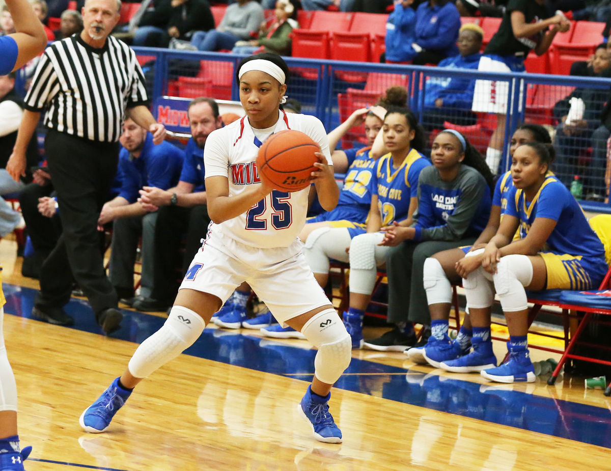 Girl power: Midway players responding to coach's 'tough love' approach – Article by Bryce Cherry