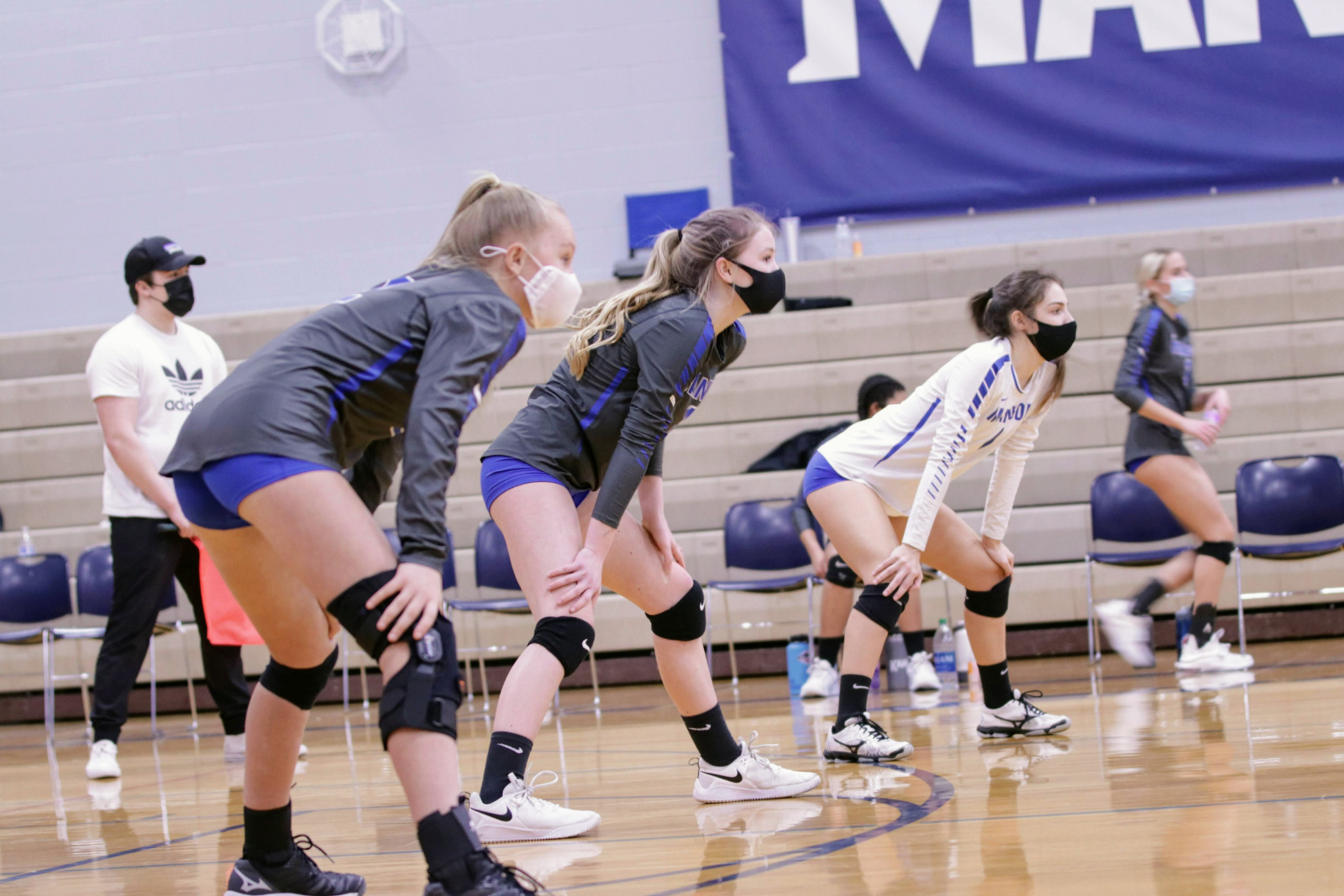 Volleyball Rolls With Two Wins At Home