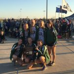 Millard West High School Girls Varsity Cross Country finishes 1st place