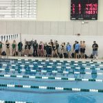 Coed Varsity Swimming finishes  at Quad @ Millard West High School