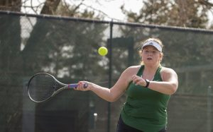 Millard West Varsity Tennis vs Lincoln SW & Burke 03.30.18