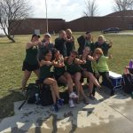 Girls Varsity Tennis finishes 1st place at Triangular @ Millard West High School