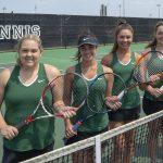 Millard West Varsity Tennis 2018 Seniors