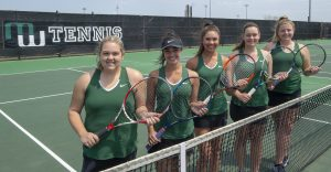 Millard West Varsity Tennis 2018 Seniors