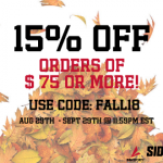 Fall Apparel Sale