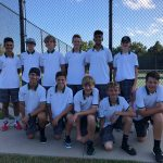 Boys Junior Varsity Tennis beats Westside 5 – 4