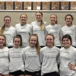 Girls Freshman Volleyball beats Millard North 2-0