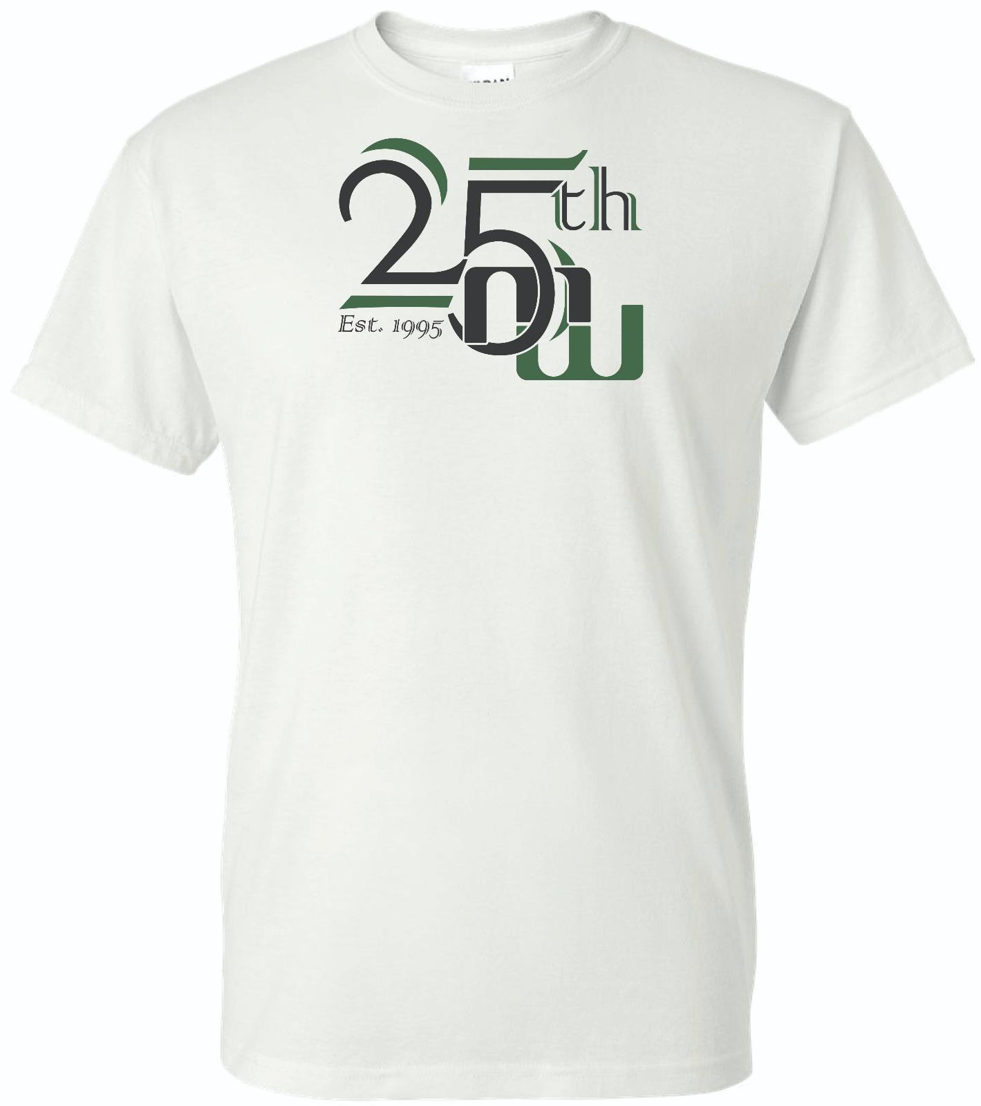 25th School Year Shirts
