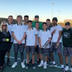 Boys Junior Varsity Tennis falls to Creighton Preparatory School 7 – 2