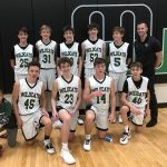 Freshmen B Team Win Holiday Tournament Championship