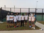Boys Varsity Tennis beats Gretna 8 – 1