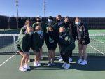 Girls Varsity Tennis swept Papillion-La Vista South 9 – 0