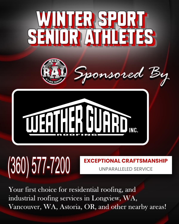 Winter Senior Athletes – 2021