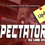 Information for Athletic Spectators