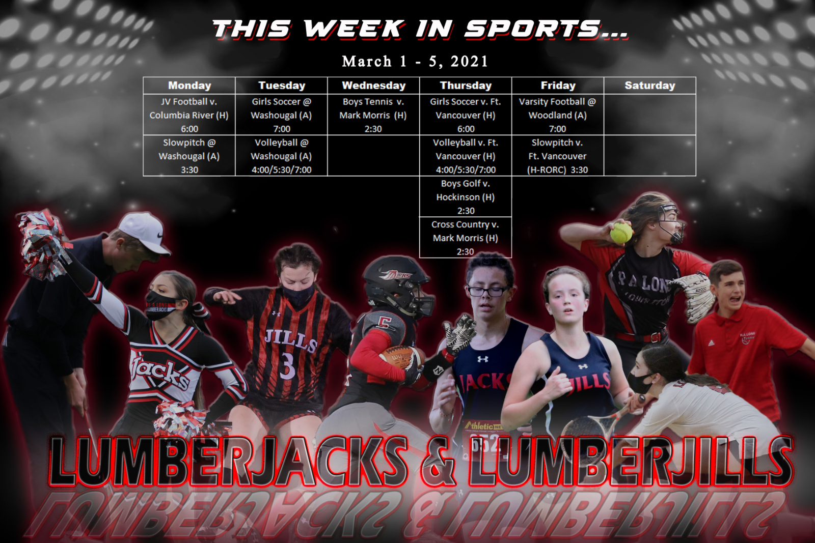 This Week in Sports…March 1-5, 2021