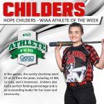Hope Childers – WIAA Athlete of the Week!