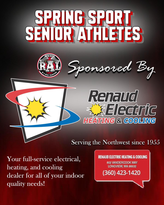 Spring Senior Athletes – 2021