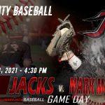 V Baseball v. Mark Morris Livestream – April 28, 2021