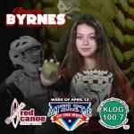 Gracie Byrnes – Red Canoe/KLOG Athlete of the Week!