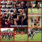 Athletic Registration Open Now
