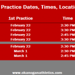 Most Athletic Practices Set to Begin Next Week