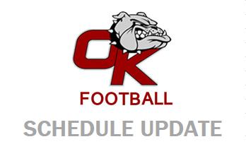 HSFB Game @ Wahluke Rescheduled