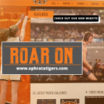 Tigers Launch New Athletic Website