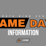 GAME DAY INFORMATION