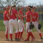 Hoffert one hits Princeton as Softball rolls over the Vikings