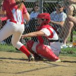 Softball downs Kings 4-1, Roberts strikes out 9