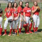 Softball seniors play their final home game, advance to Sectional Finals