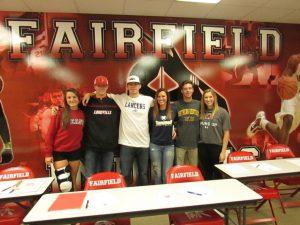 Fall Collegiate Signing 2016