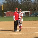 Home opener features ceremonial first pitch by softball benefactor Mr. Rob Hodges…
