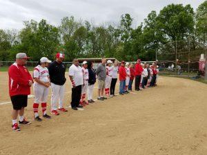 2017 Softball Senior Recognition Day