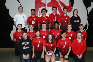2018 Boys Volleyball Team