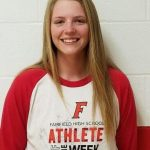 Athlete of the Week  Apr 23 – Apr 29  LINDSEY MITCHELL (JR) – Softball