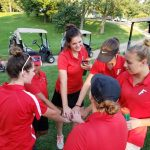 Girls Golf dominate in Tri-Match…