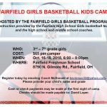 Girls Basketball Kids Camp information
