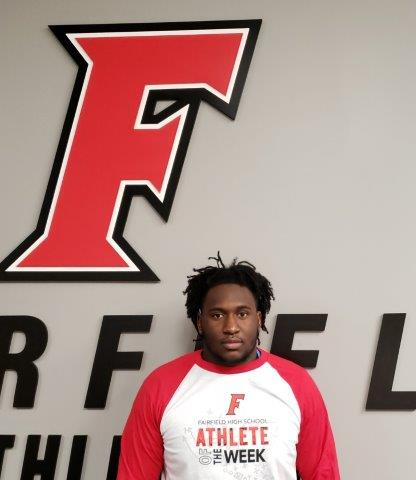 Athlete of the Week Oct 8 – Oct 14 – GREG FITZPATRICK (SR) – Football