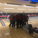 Girls Bowling strikes out Mason…