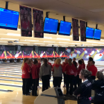 Both Boys & Girls Bowling teams handle Lebanon…