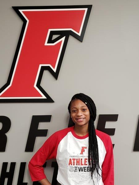 Athlete of the Week Dec 17 – Dec 30 – TORI WILLIAMS (JR) – Basketball