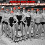 Swimmers qualify for District Tournament