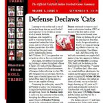 Football Weekly Warpath Volume 2, Issue 2
