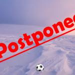 2/15 Boys Soccer Game Postponed to 2/19