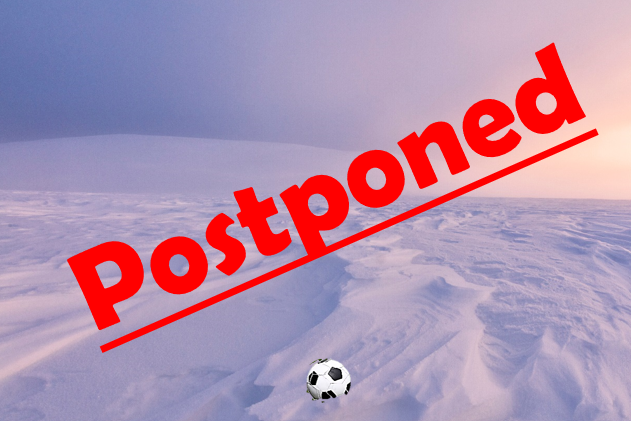 2/16 Girls Soccer Game Postponed to 2/22