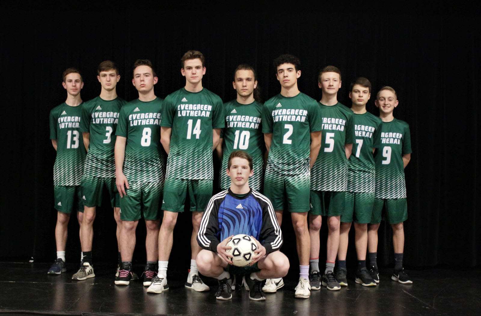 2021 ELHS Boys Soccer Team Photos