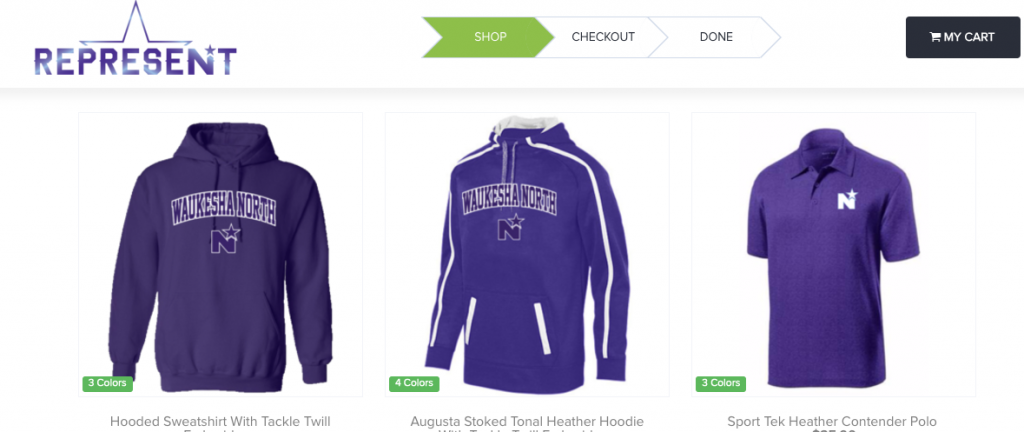 @NorthBoosters Online Spirit Wear Available through 11/26/17